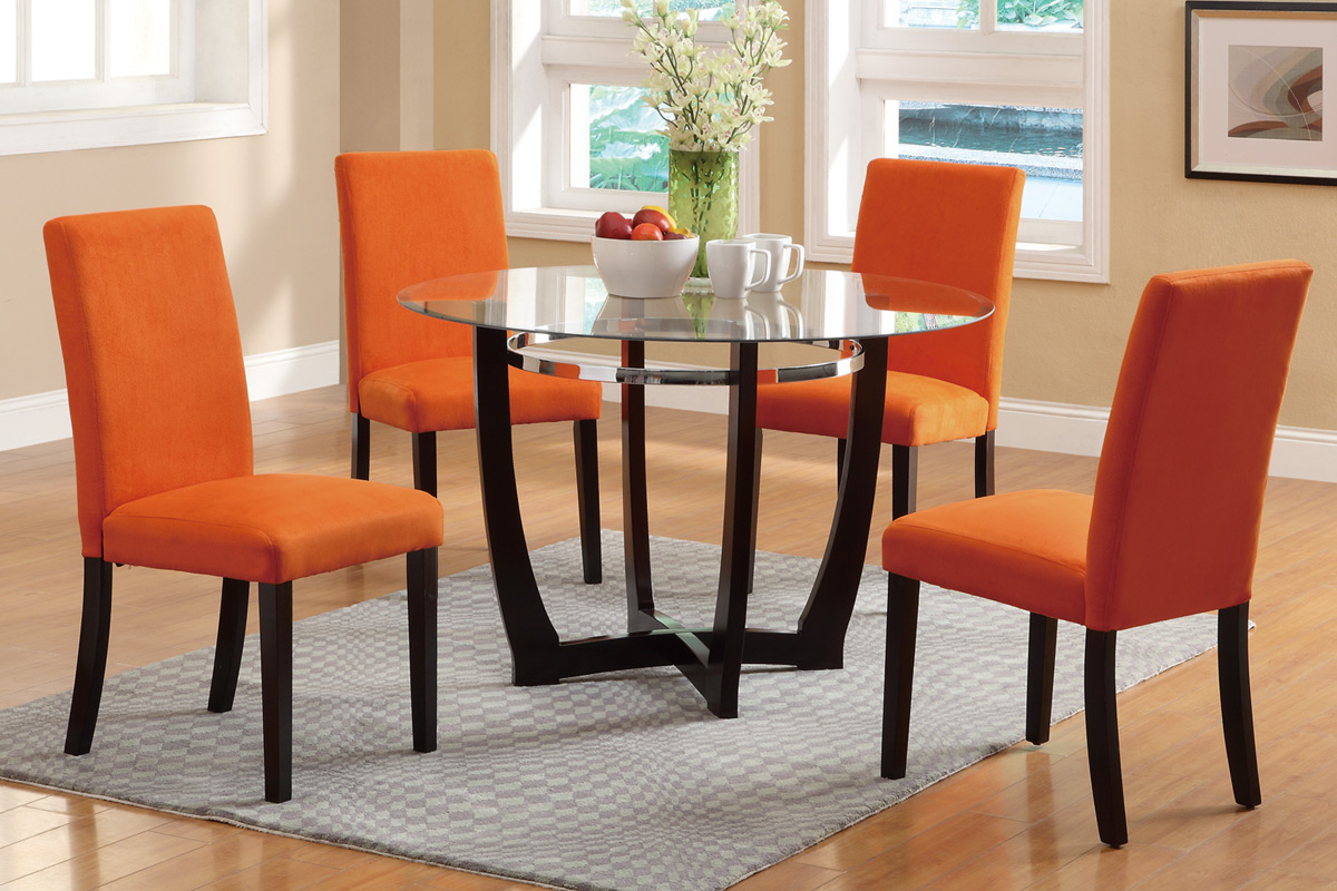 Orange Dining Room Chairs - Indiepretty