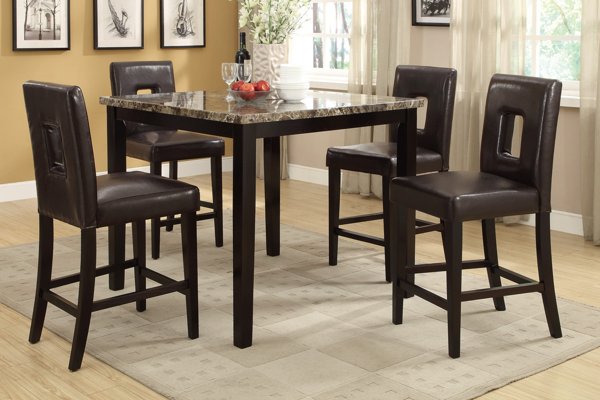 F1321 : high pub dining table set - Pezcame.Com