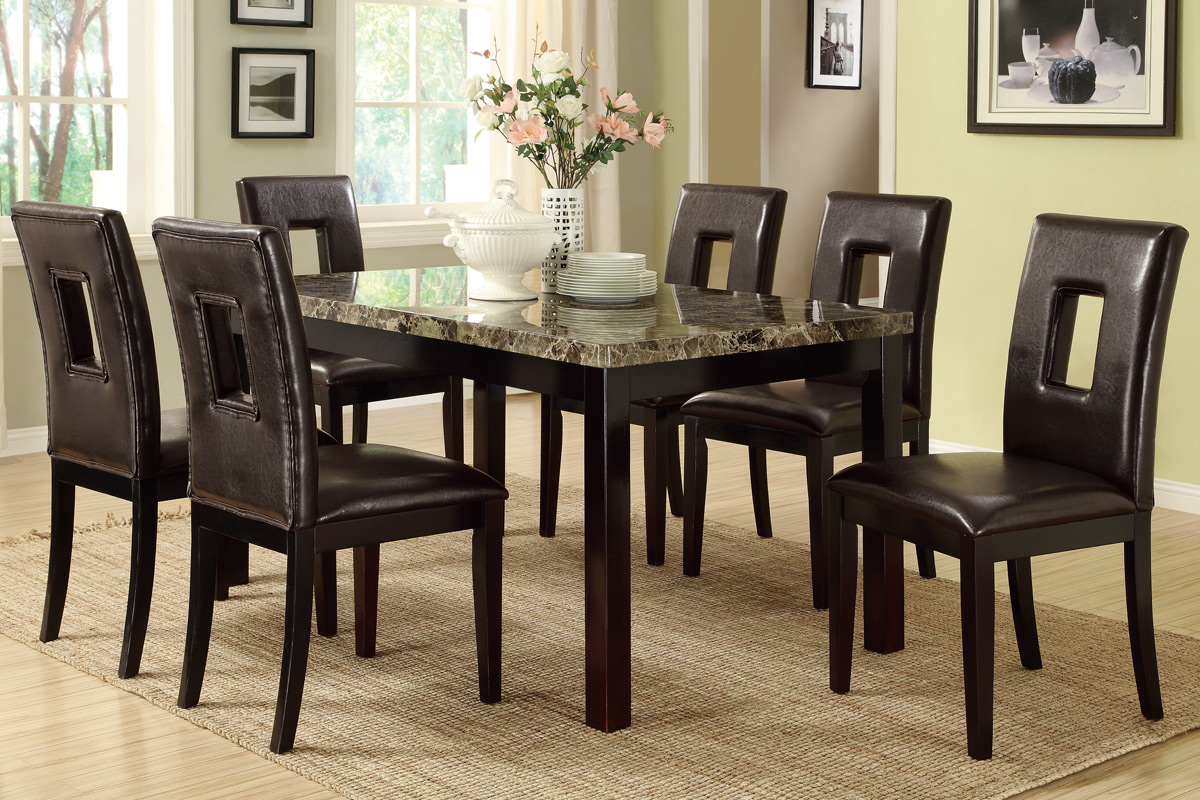 Dining Table Set F2093 F1051 Bb S Furniture Store