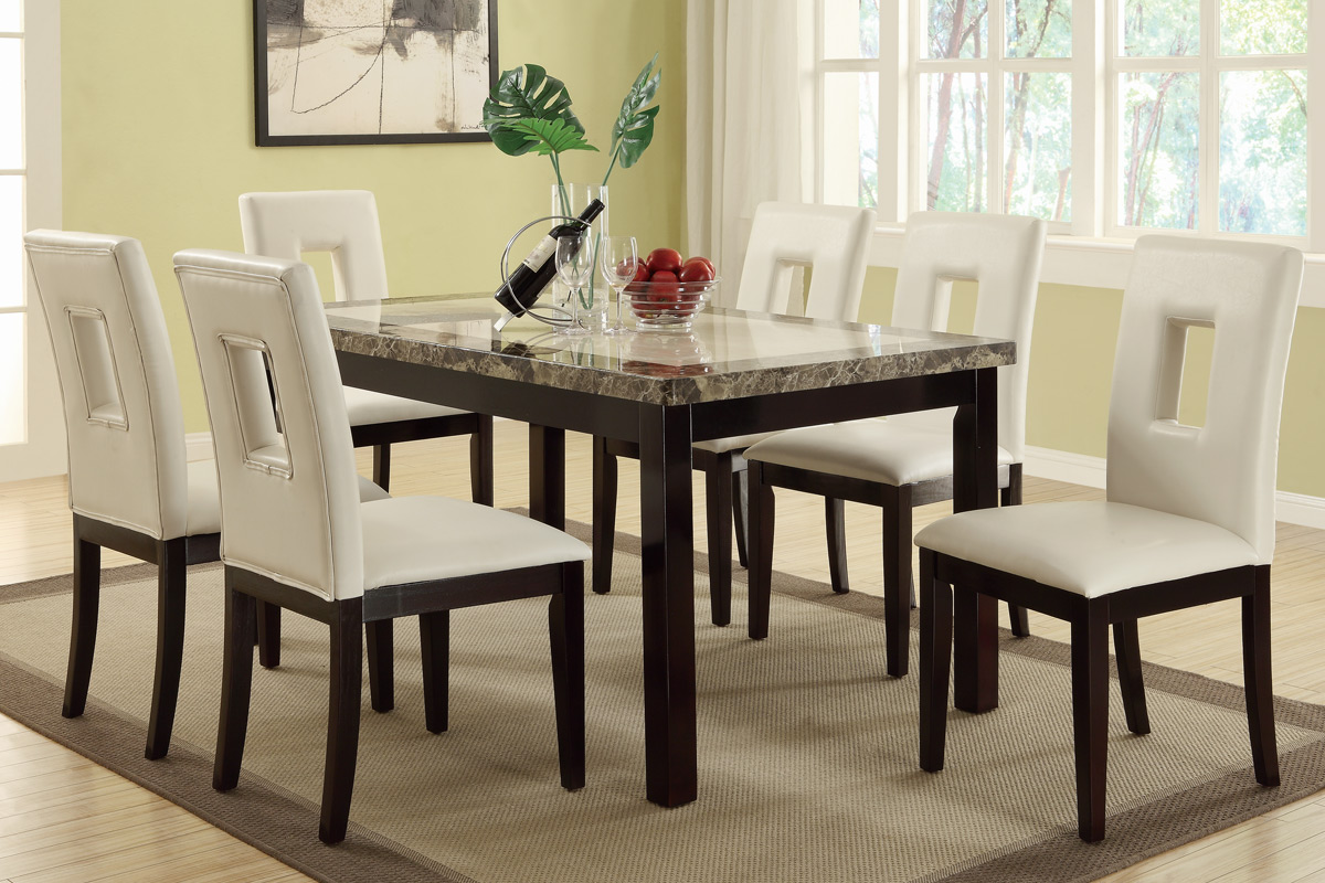 Dining Table Set F2094 F1052 Bbs Furniture Store