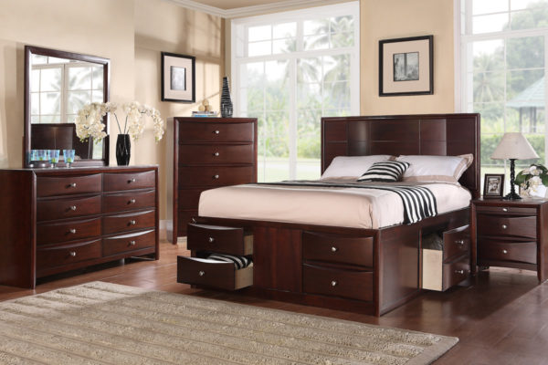 4PC King Bed Set (F9233)