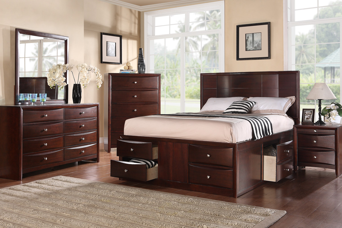 bed briana storage item products number queen coaster with contemporary bookshelf beds drawers
