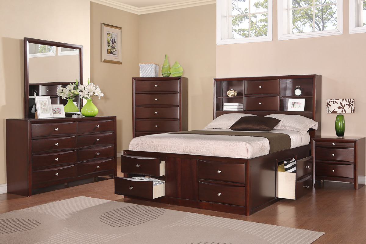 5PC Queen Bed Set (F9234) | BB\'s Furniture Store