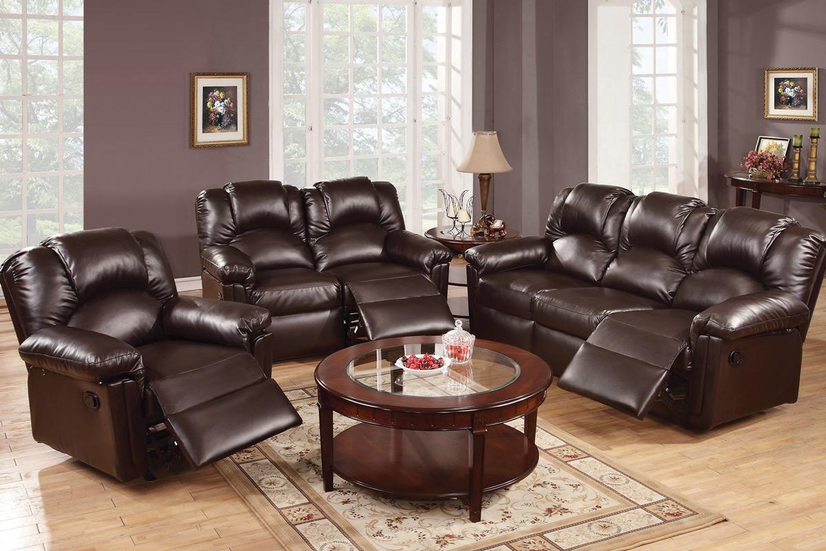 Home/Living Room/Reclining Sofas/2PC Sofa Set