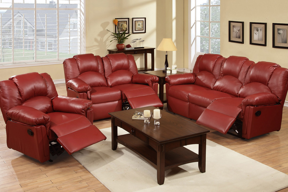 3PC Sofa, Love Seat & Chair (F6677)