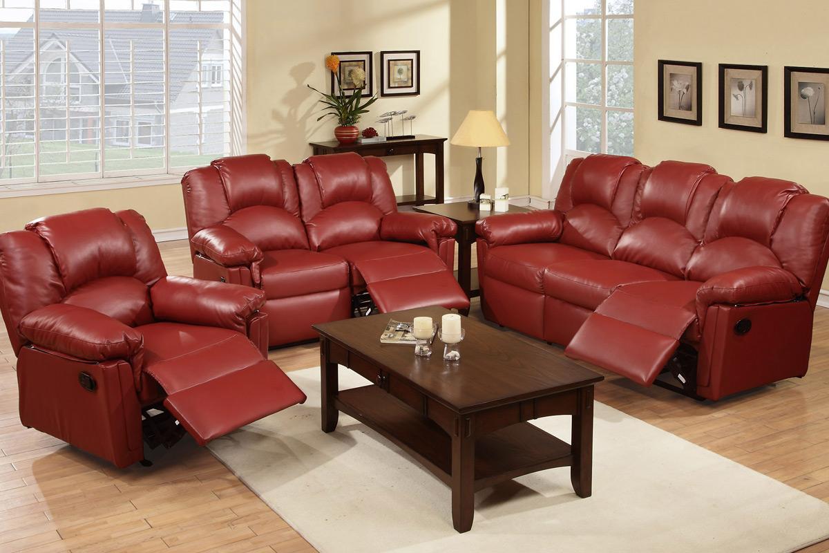 2PC Sofa & Love Seat (F6677)