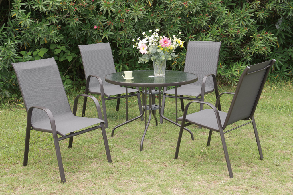Home Outdoor Furniture Dining Set 5pc