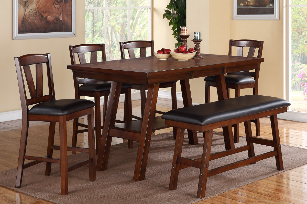 Sensational Dining Table Set F2273 F1334 Beatyapartments Chair Design Images Beatyapartmentscom