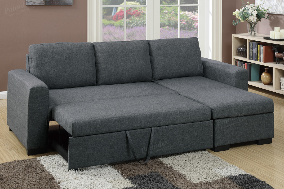Sectional Sofa With Pull Out Bed Sectional Sofa F6931 Bb S Furniture Thesofa