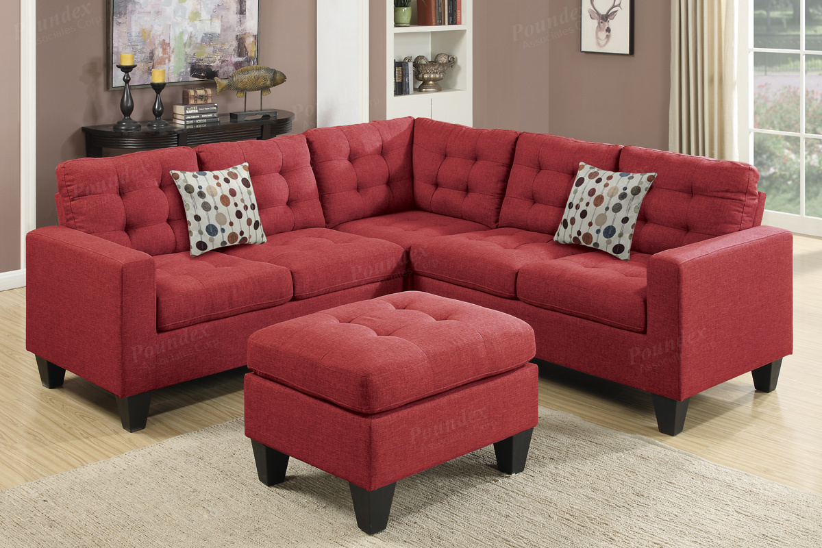 Sectional Sofa w/ Ottoman (F6936) | BB\'s Furniture Store