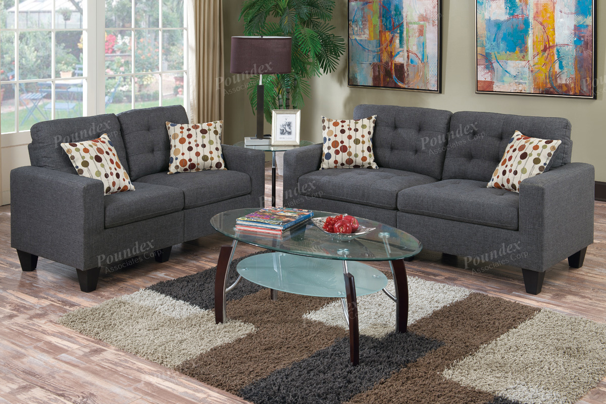 Sofa love seat f6901 bb 39 s furniture store for Sofas ocasion
