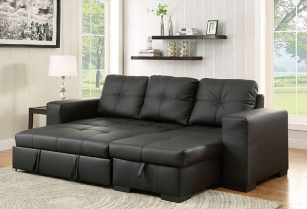 Sectional Sofa Cm6149bk Ltr Bb 39 S Furniture Store