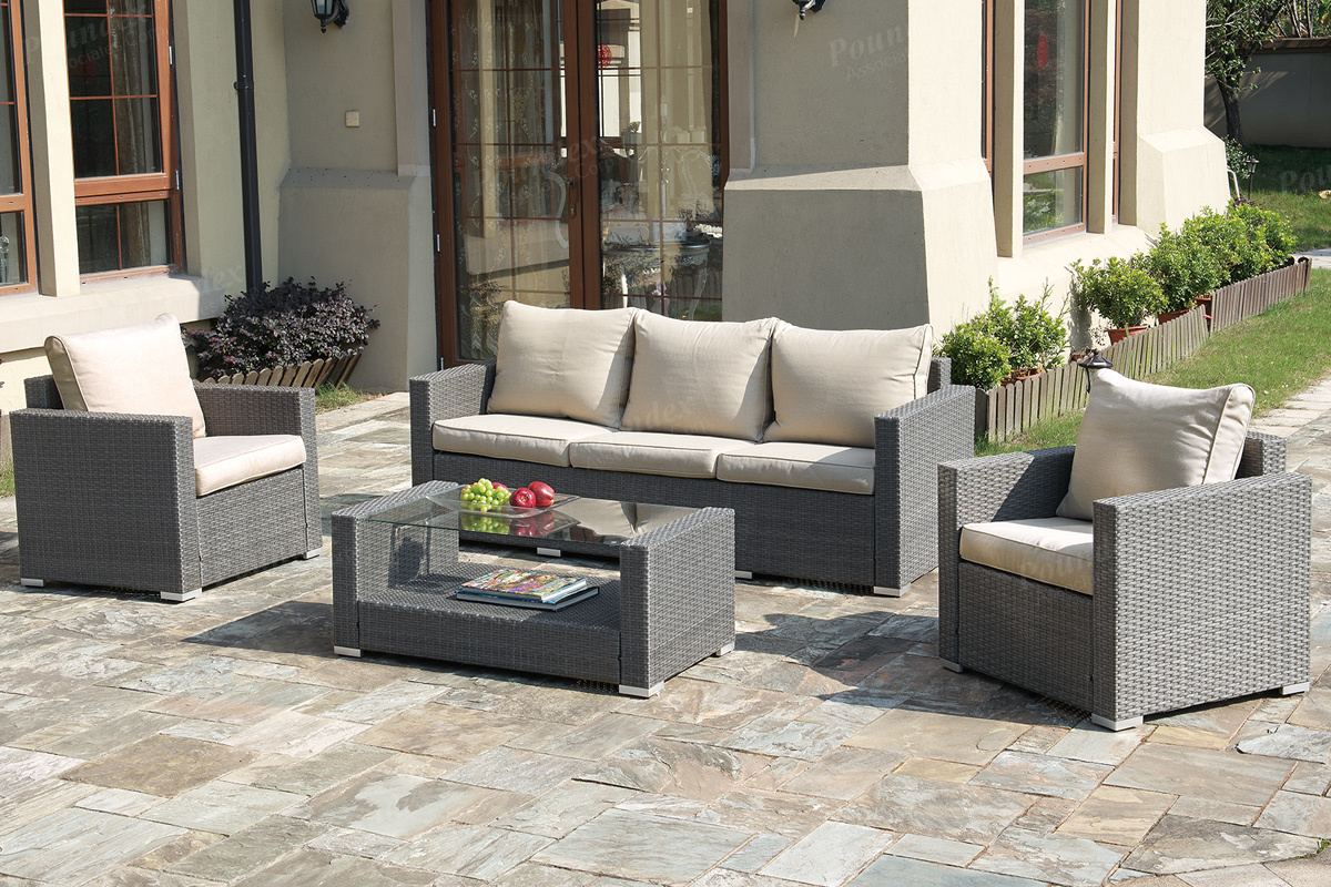 4pc Outdoor Set P50246 Bb S Furniture Store