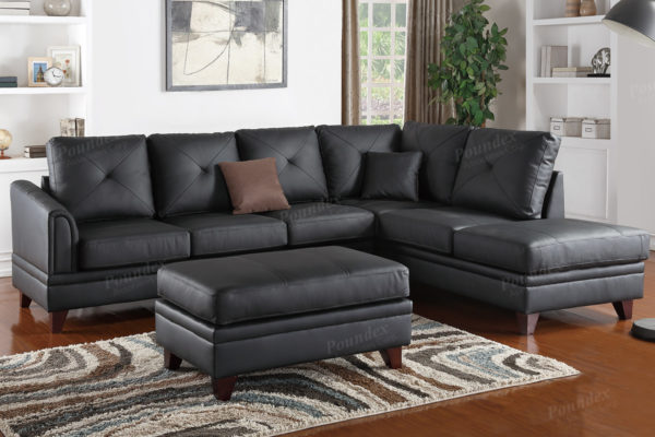 Amazing Genuine Leather Sectional F6872 Home Interior And Landscaping Ologienasavecom