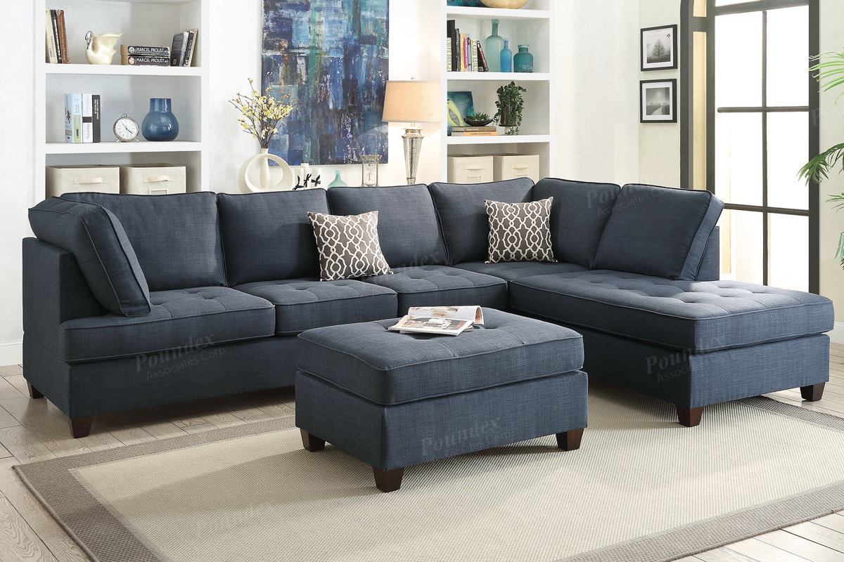 Sectional Sofa F6989 Bb S Furniture Store ~ Reversible Sectional Sofa