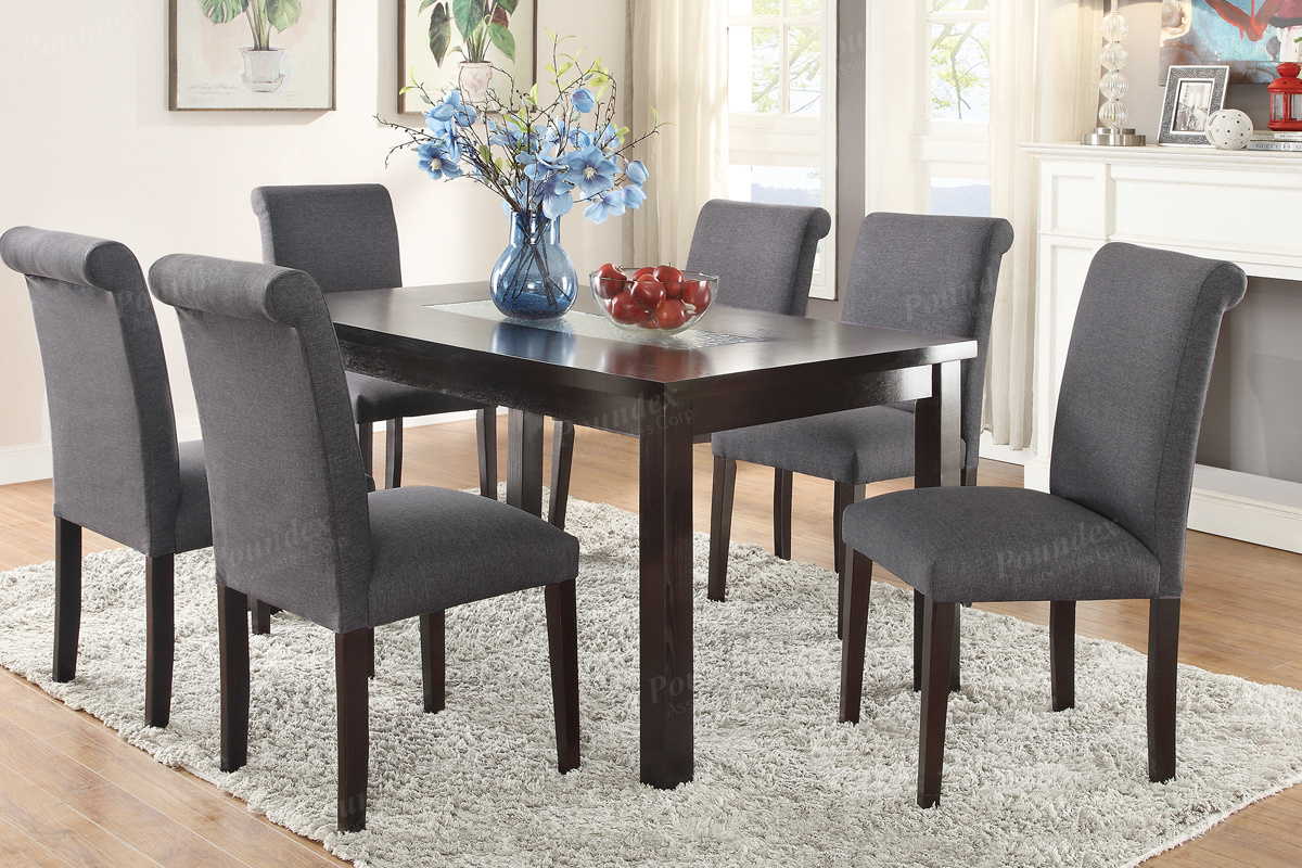freight table sets grayson set dining american wood bench with chairs gray kitchen piece
