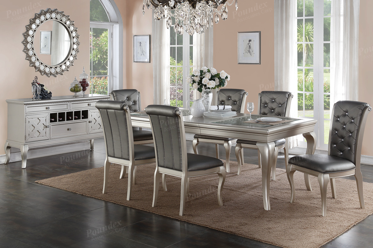 Dining Table Set F2151 F1540 BBs Furniture Store