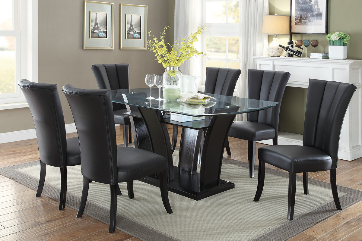 7PC Dining Table Set (F2153 / F1591) | BB\'s Furniture Store