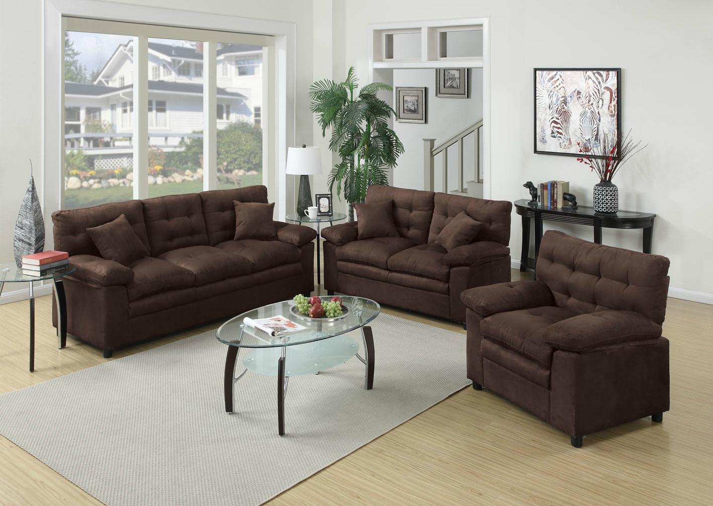 Marvelous Home/Living Room/Sofa U0026 Love Seat/3PC Sofa Set