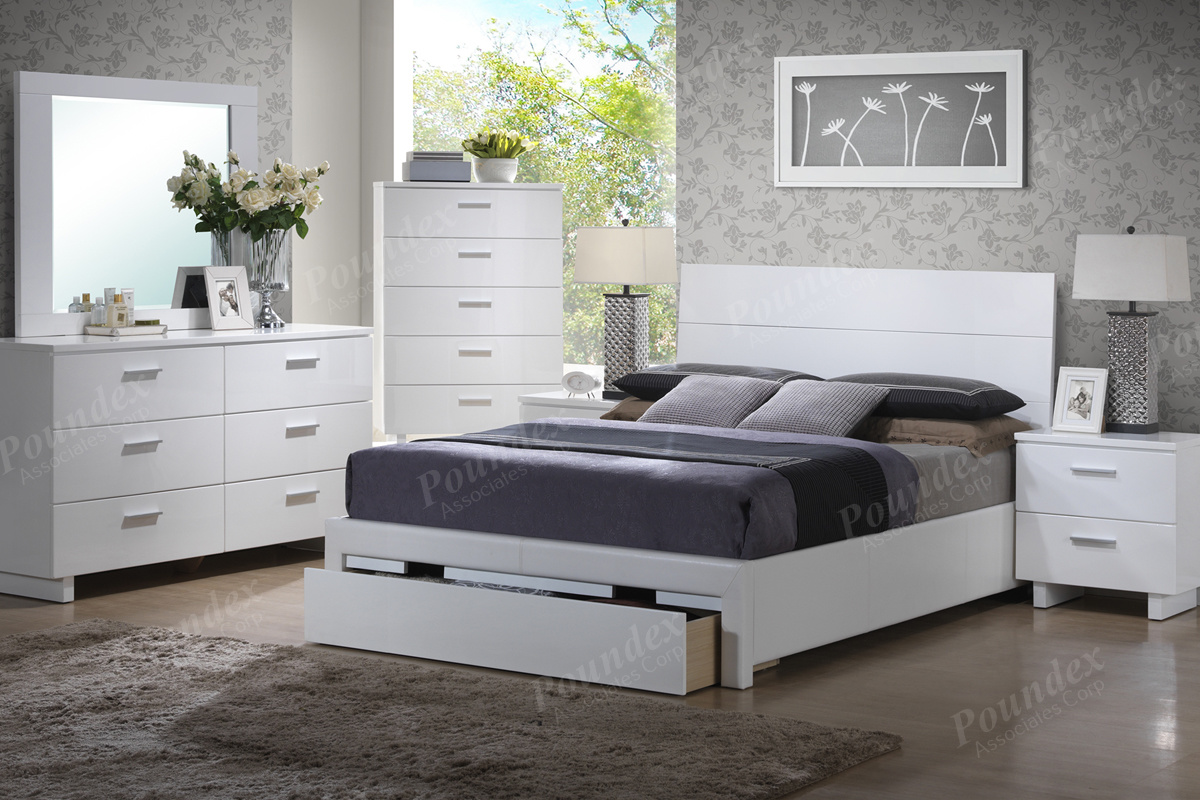 5pc King Bed Set F9284ek Bb S Furniture Store