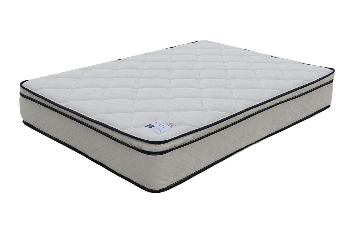 Queen 9 euro pillow top mattress f8005q bb 39 s for Best store to buy a mattress