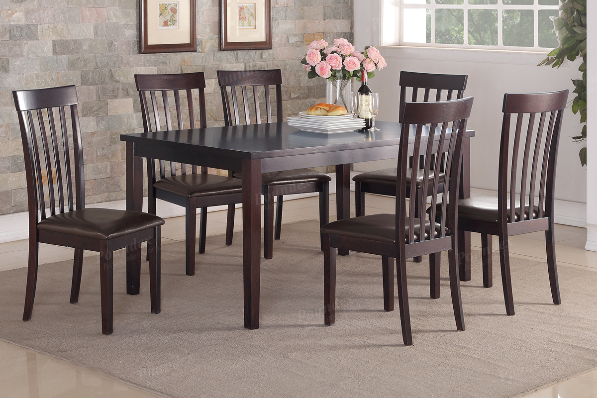 Home/Dining Room/7 PC Dining Set & 7PC Dining Table Set (F2270)