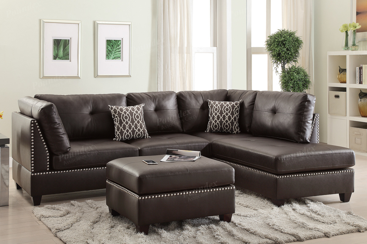 Sectional Sofa + Ottoman (F6973) | BB\'s Furniture Store