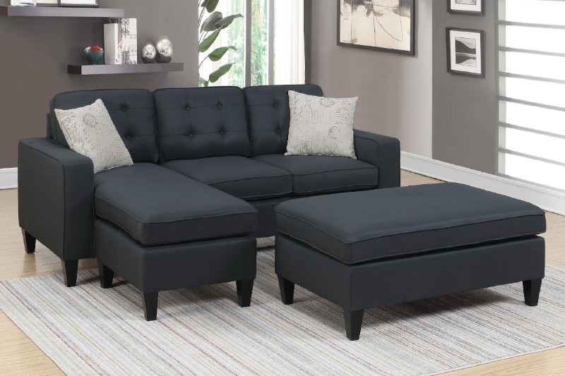 Sectional Sofa + Ottoman (F6575) | BB\'s Furniture Store