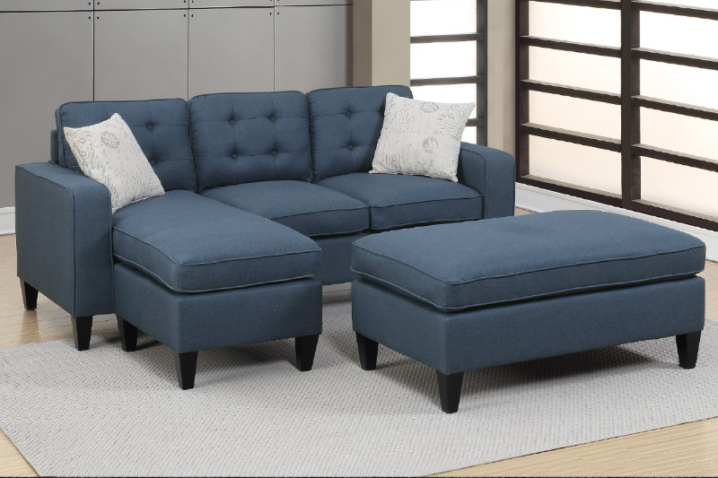 Sectional Sofa + Ottoman (F6577)